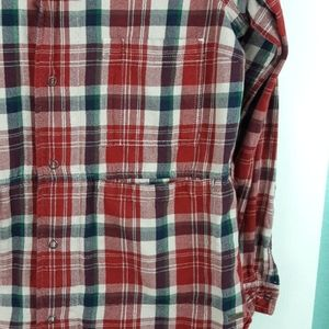 Roots Tops - Roots Canada Plaid Flannel Shirt Size Medium